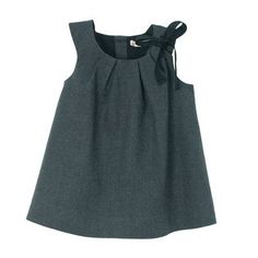 Jumper with pleated neck...for my little girl one day?