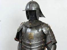 armadura en el CASTILLO REAL EN VARSOVIA.