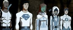 Young justice winter collection