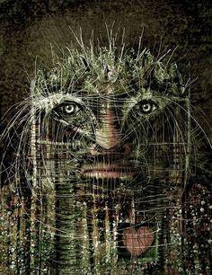 Forest Man by Leszek Kostuj