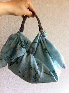 Furoshiki handy bag