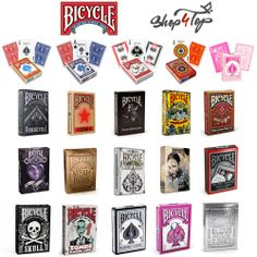 Bicycle Playing Cards Listing on ebay. Shop4top Gifts Store on ebay.