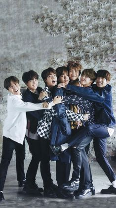 BTS Group Photo | BTS Wallpaper | BTS ANAN Magazine | BTS | 방탄소년단