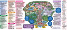 Disney World Park Maps - they come in handy when planning for a Disney World vacation