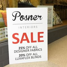 SALE NOW ON!! Please call in for details  020 8989 8354 . . . . #posnerinteriors #windowdressing #windowdressers #interiordesign #interiorlovers #interiorlovers #sale #discount #fabrics #curtains #blinds #designfabrics #softfurnishings