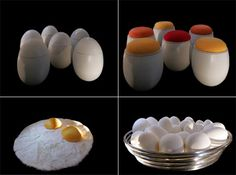 egg furniture by valentina audrito