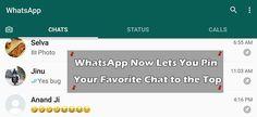 WhatsApp Pin feature, WhatsApp Pin feature version, How to Pin WhatsApp Chats, How to Pin Favorite WhatsApp Chat, WhatsApp Pin download,