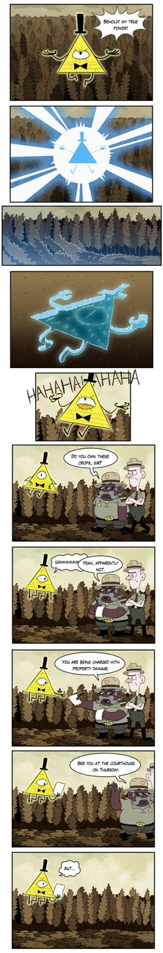 Gravity Falls,фэндомы,GF Комиксы,GF Персонажи,Bill Cipher,Sheriff Blubs,Deputy Durland