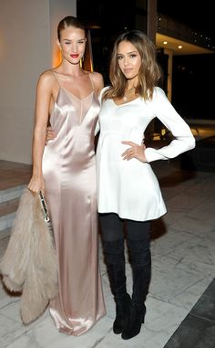 Rosie Huntington-Whiteley & Jessica Alba from The Big Picture: Today's Hot Pics | E! Online