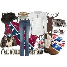 it's a southern thang.... you wouldn't understand, created by countrygurl16 on Polyvore