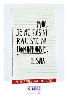 La campagne de l'association AIDES va vous donner envie de faire taire le sida