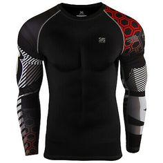 Shop a great selection of zipravs Compression Shirts Men Women Long Sleeve Crossfit Jiu Jitsu Base Layer. Find new offer and Similar products for zipravs Compression Shirts Men Women Long Sleeve Crossfit Jiu Jitsu Base Layer. Gym Gear For Men, Mens Compression Pants, Sport Outfits, Cool Outfits, Track Suit Men, Designer Suits For Men, How To Look Handsome, Running Leggings, Men's Coats And Jackets