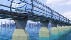 Pregopontocom Tudo: Projeto de trem que viaja a 1.200 km/h prevê viagem de Orlando a Miami em 26 minutos