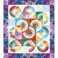 Desert Sky Quilt Pattern by Brad and Judy Niemeyer. Quiltworx. 48 x 54 | Patterns & Books