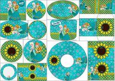 Oh My Fiesta! in english: Frozen Frozen Free, Frozen Kids, Frozen Disney, Anna Frozen, Candy Bar Frozen, Girl Birthday Themes, Kids Party Themes, Party Ideas, Party Plan