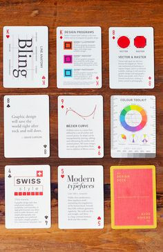 5 Days Only: The Design Deck: Playing Cards - App Ui Design, Branding Design, Book Design, Cover Design, Typography, Lettering, Media Design, Graphic Design Illustration, Magazine Design