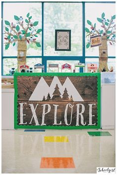 24 Ideas for camping theme classroom decorations happy campers Classroom Decor Themes, Classroom Setting, Classroom Design, Classroom Organization, Classroom Ideas, Classroom Management, Themes For Classrooms, Preschool Classroom Themes, Behavior Management
