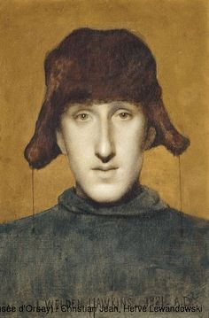 Louis Welden Hawkins (1849-1910) Portrait of a Young Man 1881, Oil on canvas