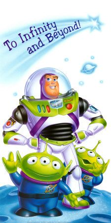 *BUZZ LIGHTYEAR & THE PIZZA PLANET ALIENS ~ Toy Story,