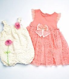Obsessed!! Look at these ADORABLE baby girl onsies!!! In love!!