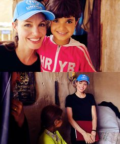 """""""Apart from my children, spending time with refugees was the greatest gift.. the greatest life lesson I could ever receive...""""   ~ On a mission to Iraq (2009)"""