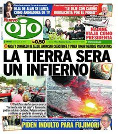 """TAPA de """"Ojo"""" de Perú: Se nos viene el fin del mundo!!!"""