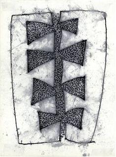 "Saatchi Art Artist Chris Engel; Drawing, ""Turnstile Emblem"" #art"
