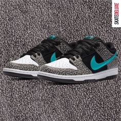 The strictly limited Nike SB Dunk Low Atmos Elephant is available exclusively for Premium Club FLOWs, AMs and PROs via Release Raffle. The raffle runs from 11.11.2020 - 14:00 to 12.11.2020 - 23:59 (CET). Further information can be found on the Release Raffle page in our shop when the raffle starts. Skate Shoe Brands, Skate Shoes, Nike Sb Dunks, Premium Club, New Skate, Shoe Releases, Converse, Vans, Dunk Low
