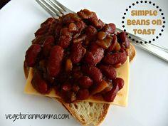 simple beans on toast gluten free
