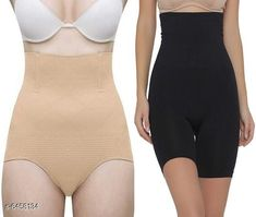 Shapewear Women's Control Shapewear Multipack of 2 Fabric: Nylon Multipack: 2 Sizes:  M (Bust Size: 10 in) Country of Origin: India Sizes Available: Free Size, XS, S, M, L, XL, XXL   Catalog Rating: ★3.9 (4130)  Catalog Name: Women's Control Shapewear Combo CatalogID_1027810 C76-SC1050 Code: 336-6458134-