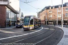 Luas Tram - Store Street In Dublin [ Ireland ]