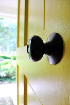 Refinishing old handles and knobs...a good tutorial  Great tips in this one too.  (Note: sand with Steel wool, rub with Liquid Deglosser, spray thin even coats with Rustoleum universal metallic paint+primer spray paint in oil rubbed bronze )