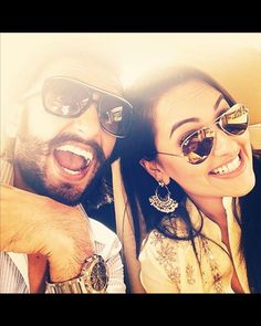 This selfie gives us a glimpse of her friend and co-star Ranveer Singh. They look adorable. Don't they?