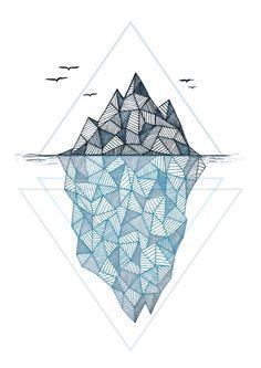 Iceberg tattoo idea