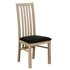 Safara Solid Wood Slat Back Dining Chair