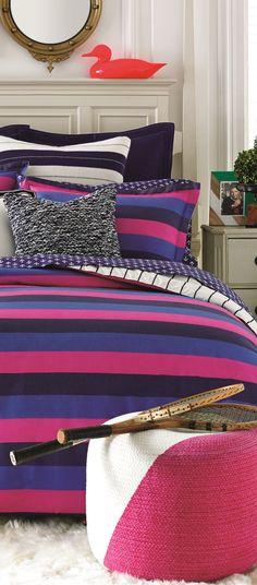 Varsity Stripe Bedding