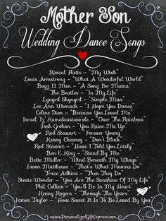 Non-cheesy songs for the mother/groom dance | wedding | Pinterest ...