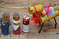 TP Roll Nativity - Camel and three wise!