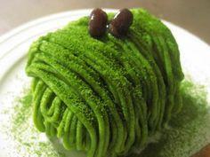 Mont Blanc ♪ of dark green tea