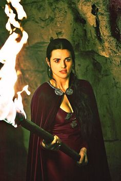 Katie McGrath as Lady Morgana (Morgan le Fey) from Merlin on the BBC (I think this might actually be a recolor but it's pretty so I don't  really care).