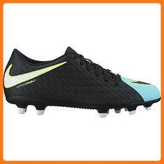 5389343b9277 Women s Nike Hypervenom Phade III FG Soccer Cleat Light Aqua White Black  Size 8.5