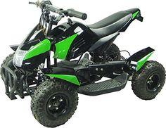 @@  Go Bowen Gobi ATV g204 350Watt Brush Green with Black moto