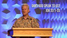 Job 33:1-33, Does God Speak To Us?