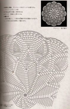 Kira scheme crochet: Scheme crochet no. 67 Kira scheme crochet: Scheme crochet no. 67 Learn the basi Crochet Doily Diagram, Crochet Doily Patterns, Crochet Mandala, Crochet Chart, Thread Crochet, Crochet Motif, Irish Crochet, Crochet Stitches, Crochet Round