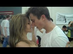 FOOTLOOSE DANCE REHEARSAL with JULIANNE HOUGH, KENNY WORMALD, and ZIAH C...