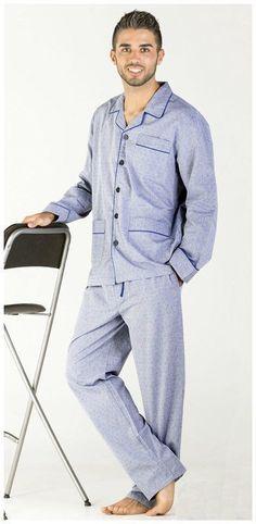 Pijamas Pettrus Man hombre - Algodón 100% - Varela Intimo 4cdd58a6a1bb0