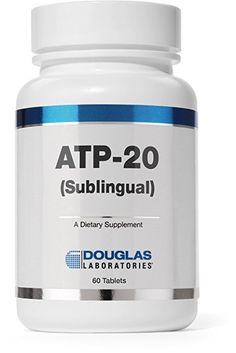 Douglas Laboratories® - ATP-20 (Sublingual) - Adenosine Triphosphate Dissolvable Tablet for Cellular Energy Support* - 60 Tablets