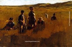 Eastman Johnson In the Fields, painting Authorized official website