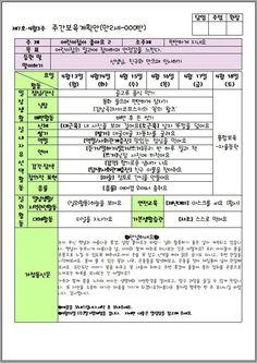 [어린이집 정보]주간계획안 보는법,영역구성,하루일과 지도방법 : 네이버 블로그 Periodic Table, Periodic Table Chart, Periotic Table