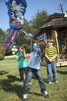 Sonic Party Planning Guide. Let us handle the details, you just have fun! #Party #Boys #BirthdayExpress